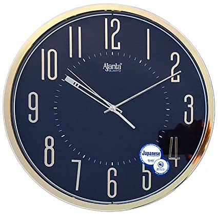 Amazon.com: Ajanta Fancy Wall Clock(Silent Wall Clock): Home & Kitchen