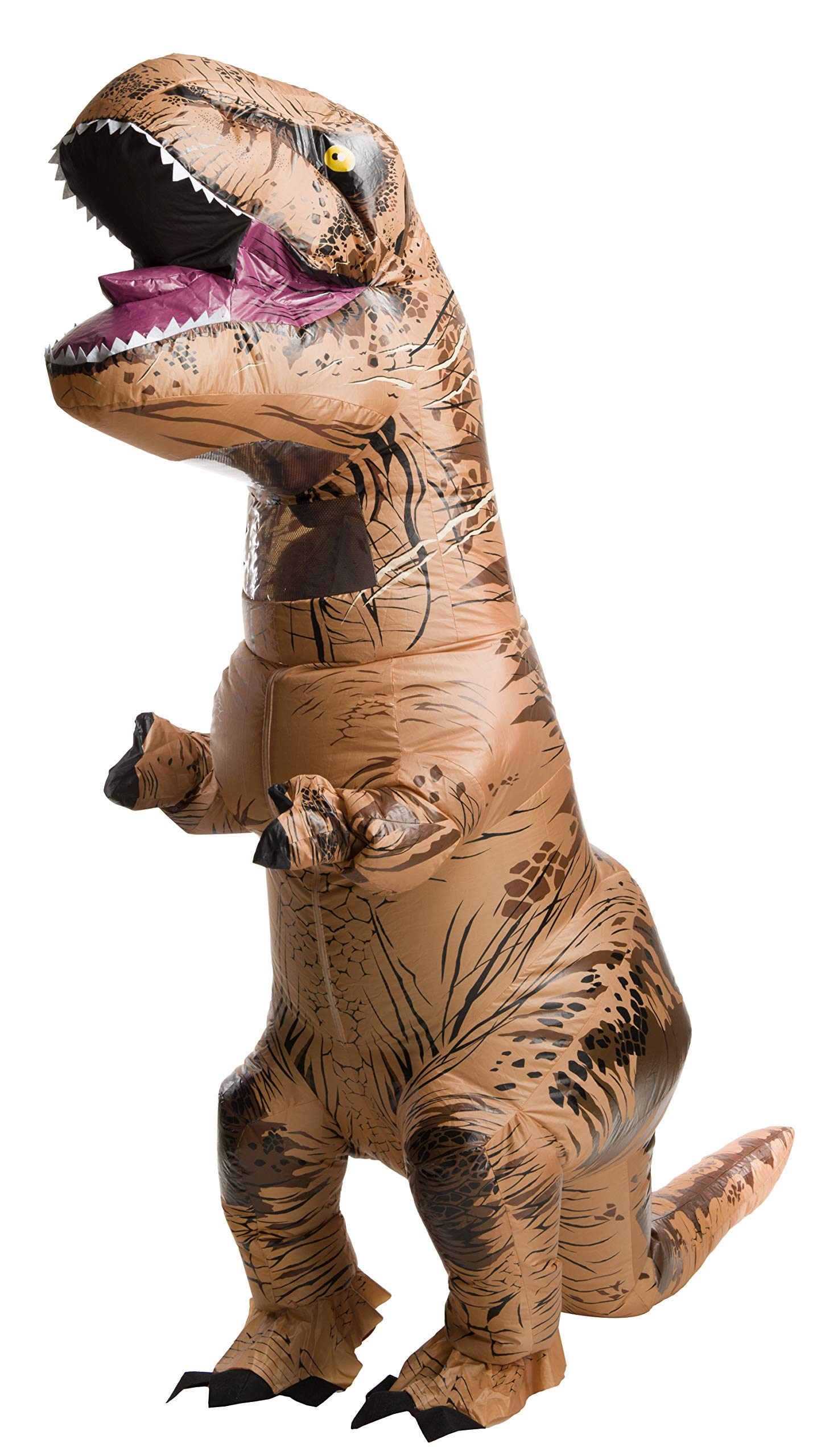 Rubie's Adult Official Jurassic World Inflatable Dinosaur Costume, T-Rex, Teen by Rubie's