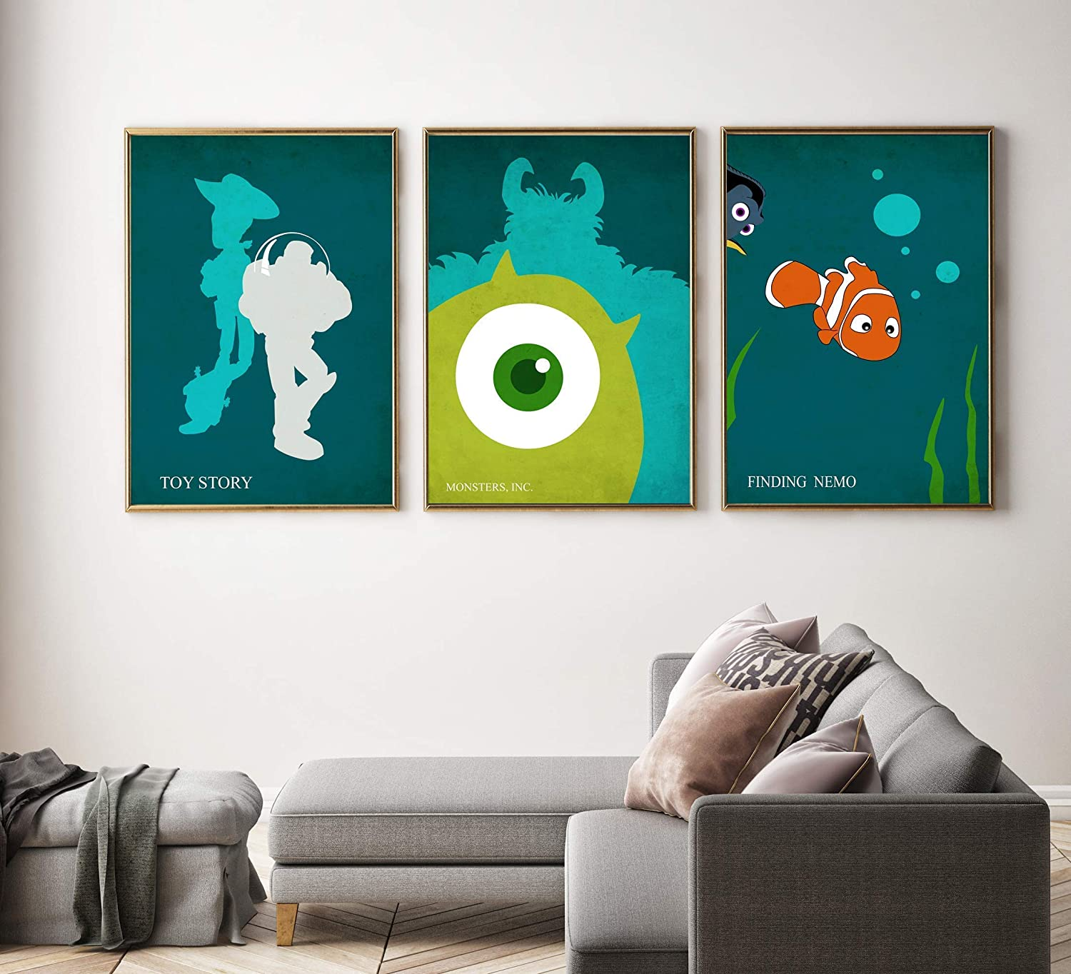 Toy Story 4 Movie Poster or Canvas Art Print Framed Option A3 A4 Sizes
