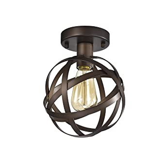 Mini flush mount chandelier lighting bronze orb ceiling light mini flush mount chandelier lighting bronze orb ceiling light fixture 1 light 17042 aloadofball Image collections