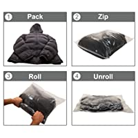 Zero Grid Travel Compression Bags 10 Count