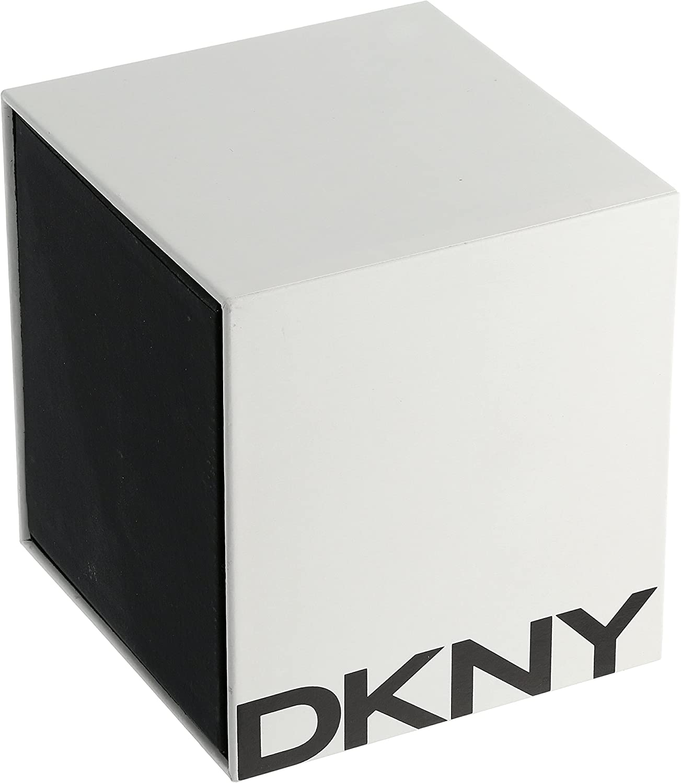 DKNY Women's Minetta Stainless Steel Dress Quartz Watch Gold