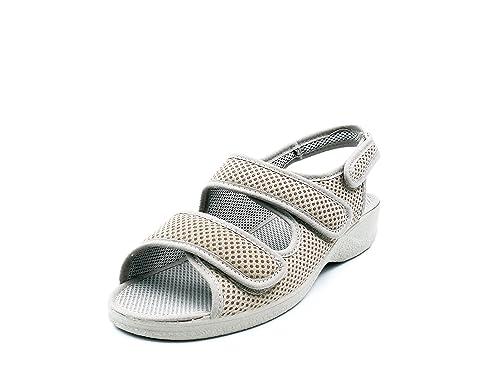 Zapatilla Mujer, Marca Doctor CUTILLAS, Color Tostado, Cierre Dos Velcros - 21739-115: Amazon.es: Zapatos y complementos