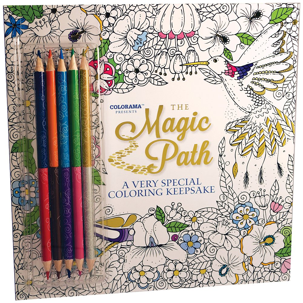 The Magic Path Coloring Book Colorama