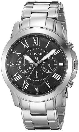 Fossil Hombre ftw10031 Fossil Q subvención Cronógrafo Acero Inoxidable Conectado Reloj: Amazon.es: Relojes