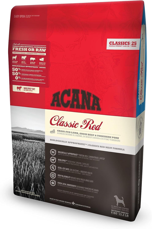 ACANA Classic Red Comida para Perros - 6000 gr