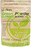 Hion Green Powder – Ultimate Blend 150g | Vegan, Alkaline & Gluten-Free Supergreens | Produced in The UK | 11 of The Highest-Quality Ingredients | UK's Premium Ultra-Pure Green Super Food Powder.