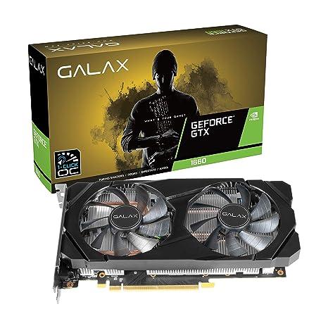 Image result for GALAX GeForce® GTX 1660 (1-Click OC) 6GB GDDR5 192-bit DP/HDMI/DVI-D Graphic Card