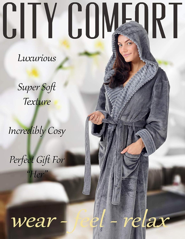 Luxe Femme De Pour Femmes Robes Pingouin En Chouette Peignoir wymnPO80vN