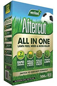 Aftercut All In One Lawn, Feed, Weed and Moss Killer