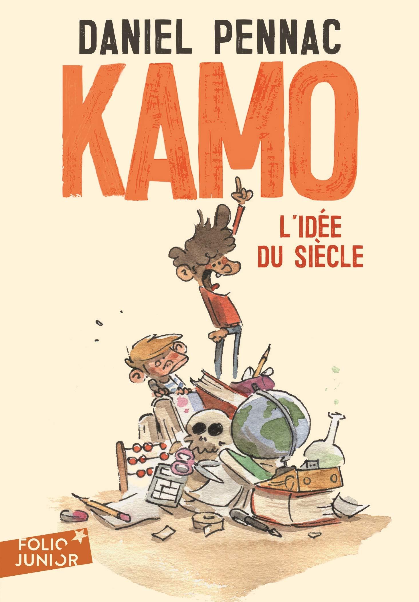 Amazon.fr - Une aventure de Kamo, 1 : Kamo. L'idée du siècle - Daniel  Pennac, Benjamin Renner - Livres