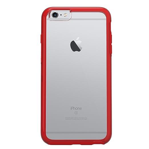 116 opinioni per OtterBox Symmetry Clear Custodia per Apple iPhone 6/6s, Rosso