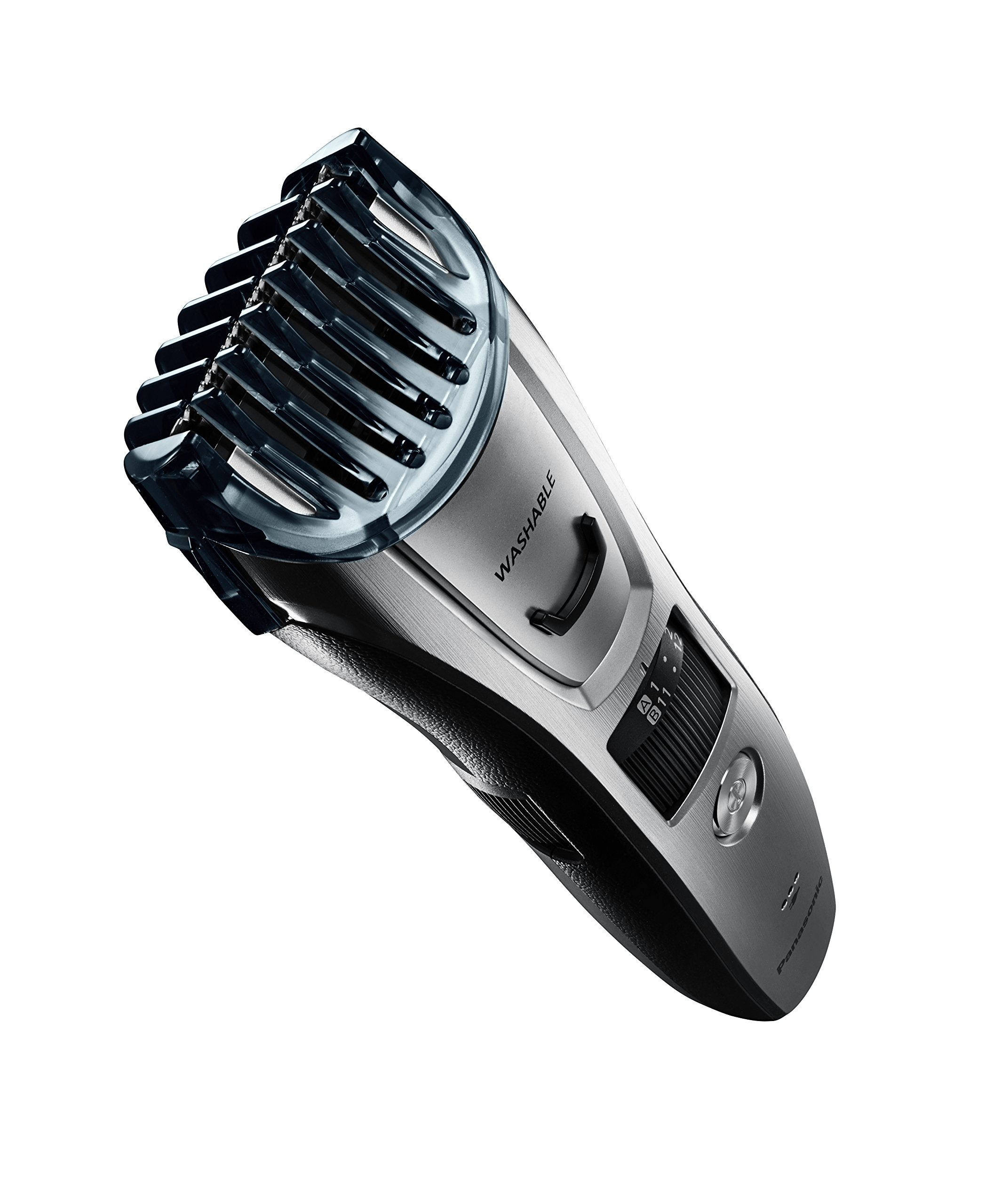 Panasonic ER-GB80-S Body and Beard Trimmer, Hair Clipper, Men's, Cordless/Corded Operation with 3 Comb Attachments and 39 Adjustable Trim Settings, Washable by Panasonic (Image #8)