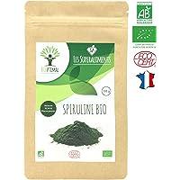 Spiruline bio | 100g en poudre | Complément alimentaire | Superaliments | Energie - Sport BCAA | Bioptimal - nutrition naturelle | Conditionnée, Contrôlée et Analysée en France | Certifié par Ecocert