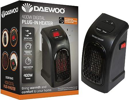 Amazon.co.uk: plug in electric heater
