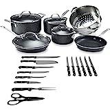 Amazon Com Betty Crocker 14 Piece Cookware Set Nonstick