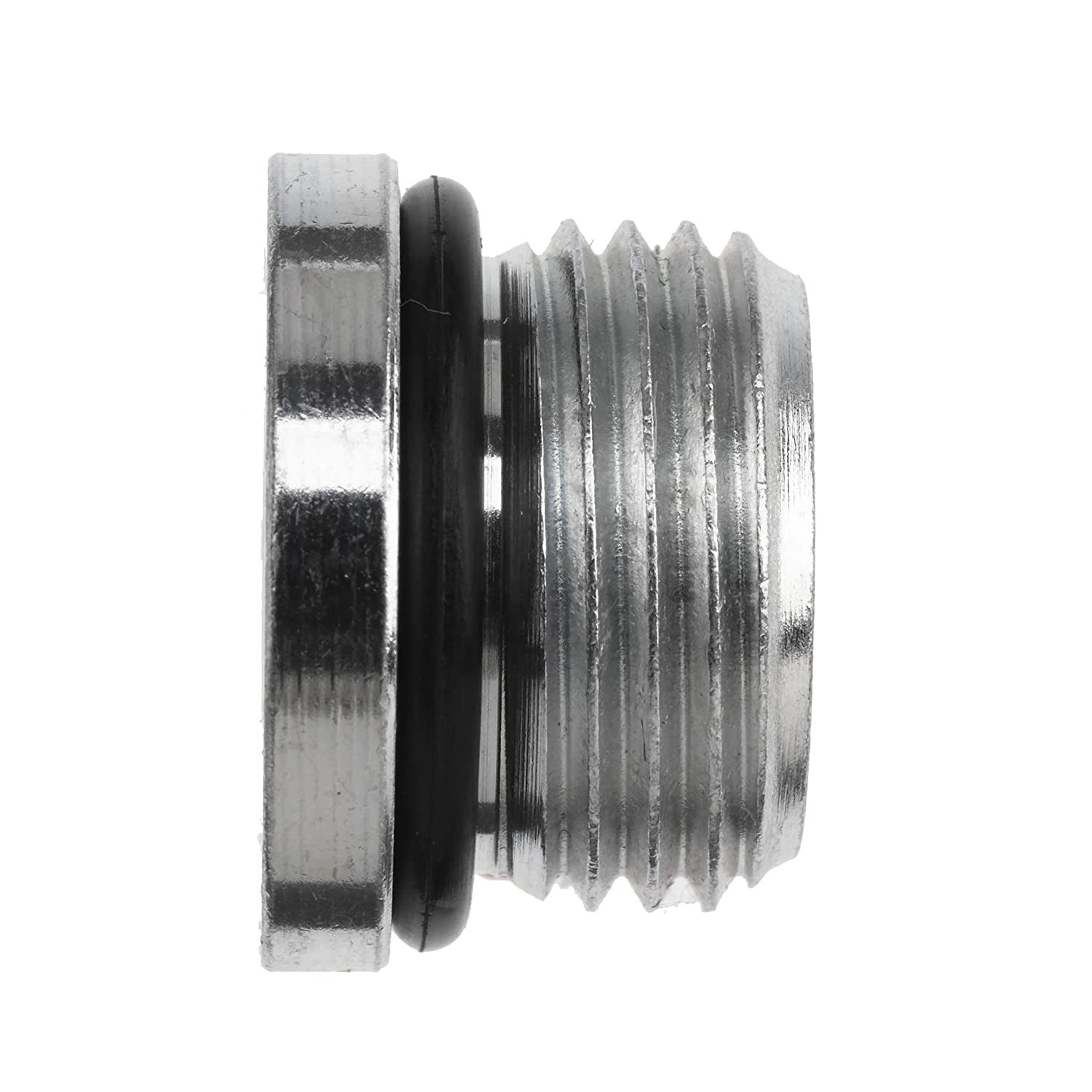 1-5//8-12 SAE ORB x 1-7//8-12 SAE ORB Thread Male O-Ring Boss x Female O-Ring Boss Brennan Industries 6410-20-24-O-SS Stainless Steel Straight Reducer
