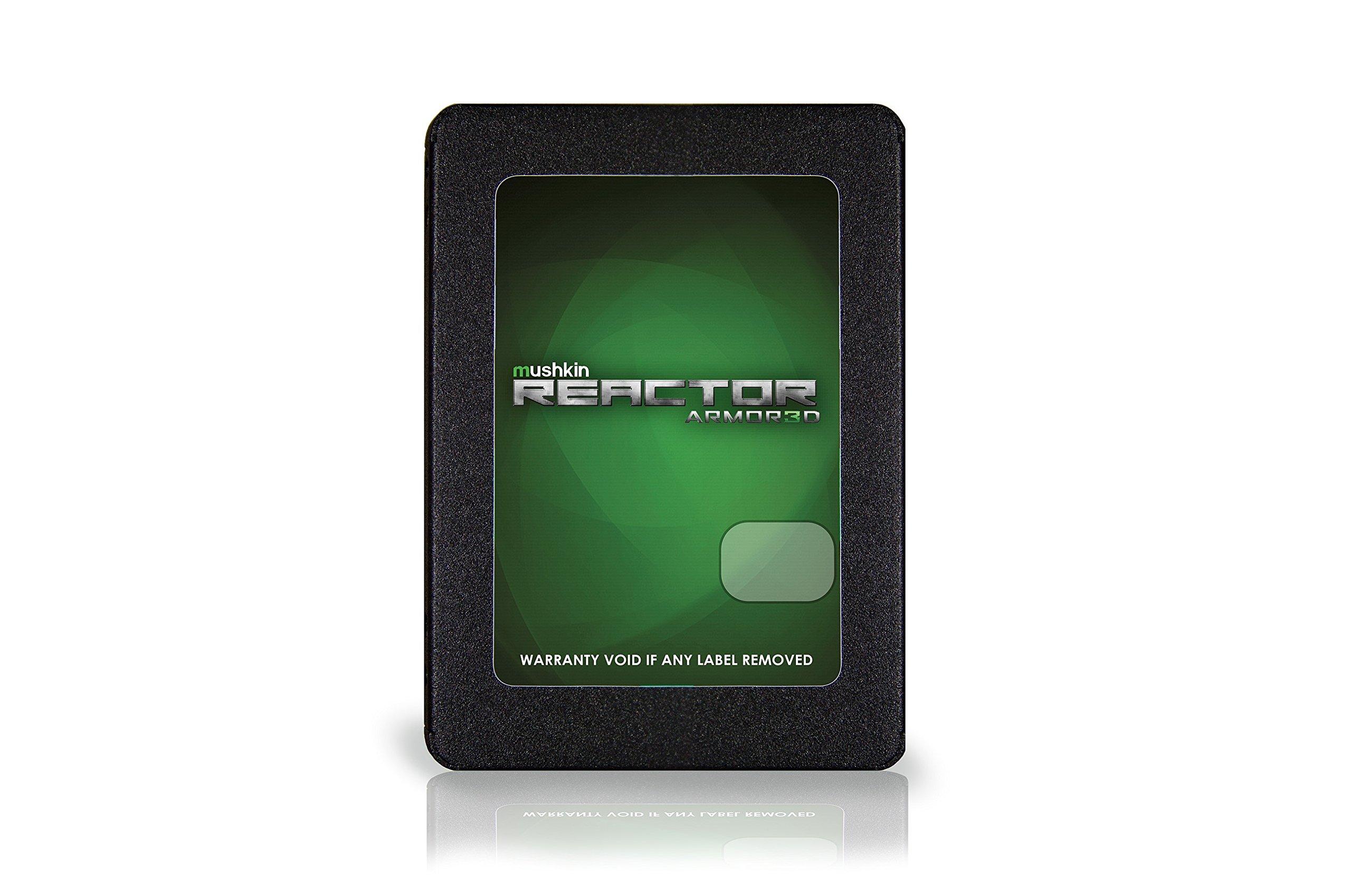 Mushkin REACTOR ARMOR3D - 480GB Internal Solid State Drive (SSD) - 2.5 Inch - SATA III - 6Gb/s - 3D Vertical MLC - 7mm - MKNSSDRE480GB-3D by Mushkin