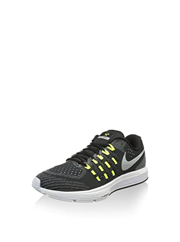 half off ef8be a31ad NIKE Men s Air Zoom Vomero 11 CP Running Shoes, Black White   Green (