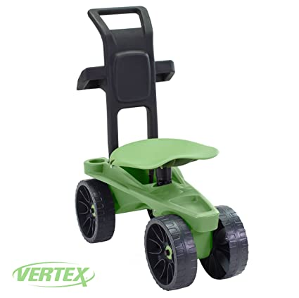 Easy Up Deluxe XTV Rolling Seat And Scoot Gardening Scooter   Adjustable  Swivel Seat, Heavy