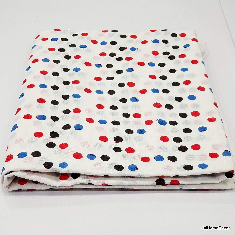 Tela de algodón de 5 yardas con estampado de cuadros, tela de ...