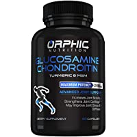 Glucosamine Chondroitin - Turmeric & MSM 2100MG Anti Inflammatory Joint Support Supplements for Pain Relief Joint Cartilage Health - Stiffness & Arthritis Relief for Men & Women, Increases Mobility
