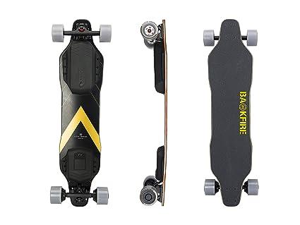 Amazon.com: BACKFIRE G2S Longboard eléctrico (oro y negro ...