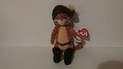 67e12ec4884 Amazon.com  TY - Puss In Boots - Beanie Baby  Toys   Games