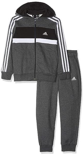 adidas Jungen Cotton Closed Hem Trainingsanzug: