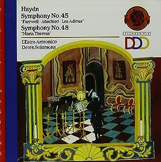 Haydn: Symphony No. 45 in F-Sharp Minor: Farewell / Symphony No