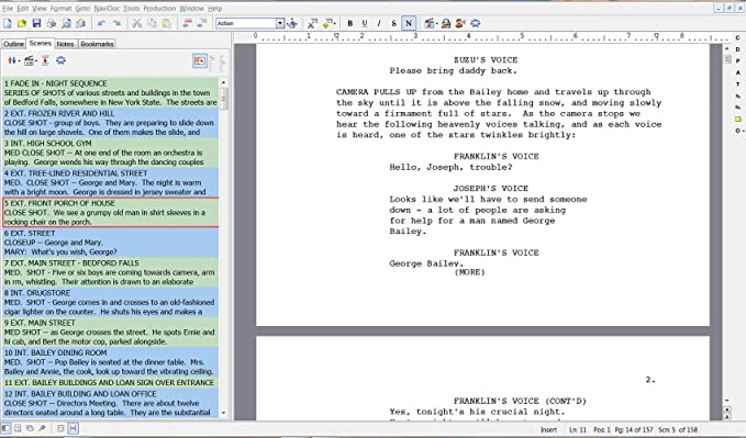 Movie Magic Screenwriter Version 6 (download code) CD not included
