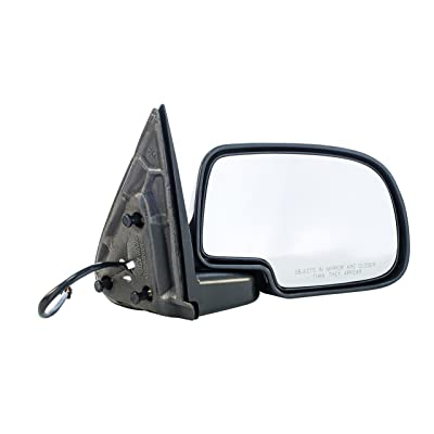 Dependable Direct Right Side Power Folding Heated Mirror for 00-05 Chevy Suburban, Tahoe Yukon GM1321247: Automotive