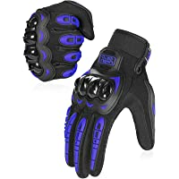 COFIT Guantes de Moto, Pantalla Táctil en los Dedos, Guantes de Moto de Carreras, para Bicicleta ATV BMX MTB, Escalada…