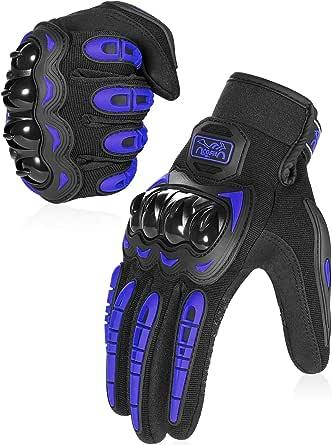 COFIT Guantes de Moto, Pantalla Táctil en los Dedos, Guantes de Moto de Carreras, para Bicicleta ATV BMX MTB, Escalada, Motocross y Otros Deportes al Aire Libre