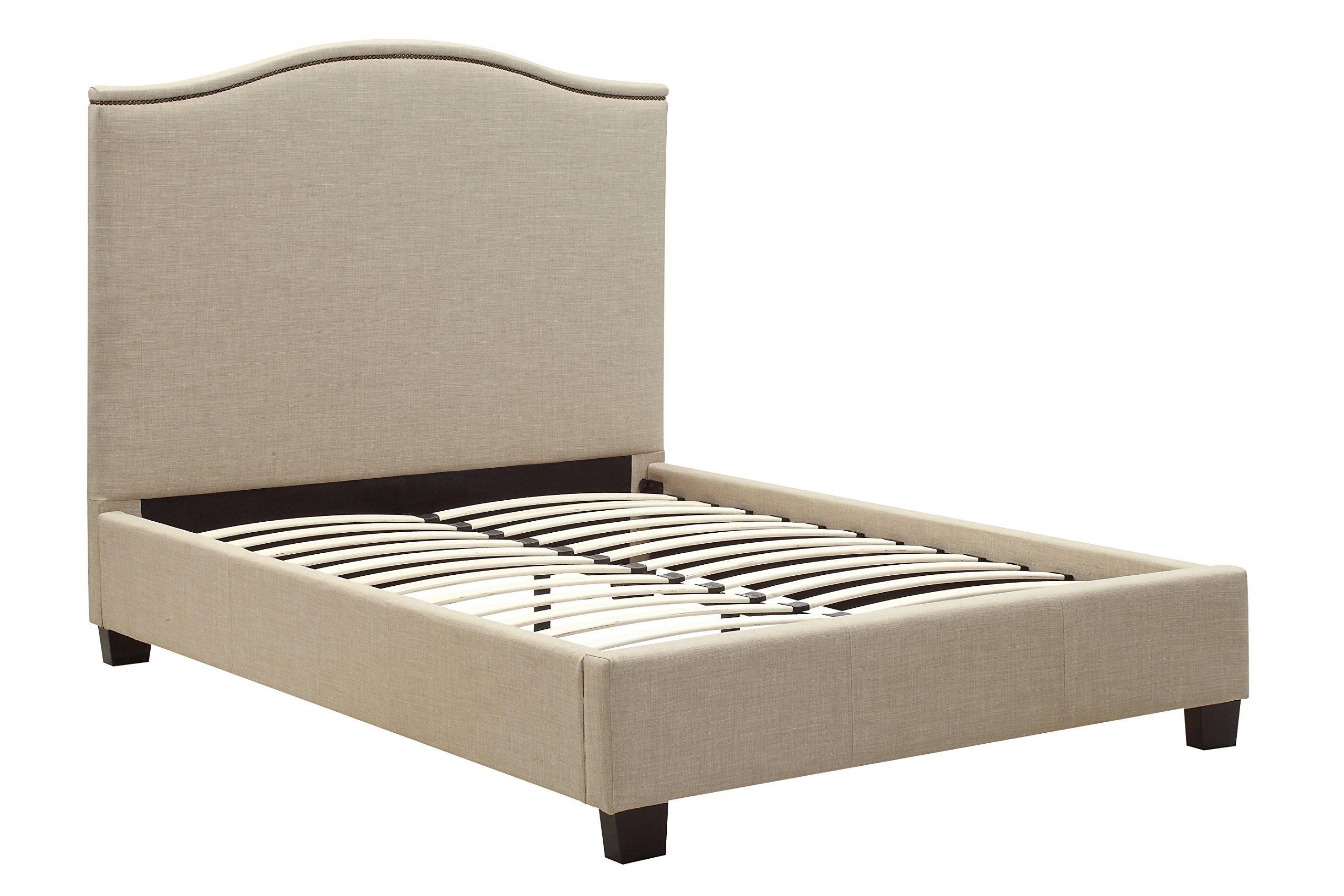 Modus Furniture 3ZL7L7BH2 Gervais Camelback Headboard, King, Espresso