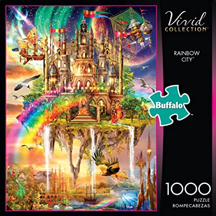 Vivid Collection Desert Color by Eduard 1000 PC Puzzle Brand New Buffalo Games