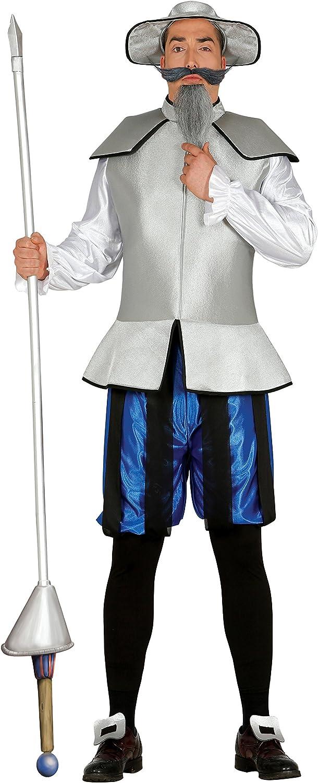 Guirca- Disfraz adulto caballero errante, Talla 52-54 (84536.0 ...