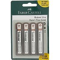 Faber-Castell 5500127575 F.C.Bls. 4'Lü Super Fine Min, 2B, 0.5