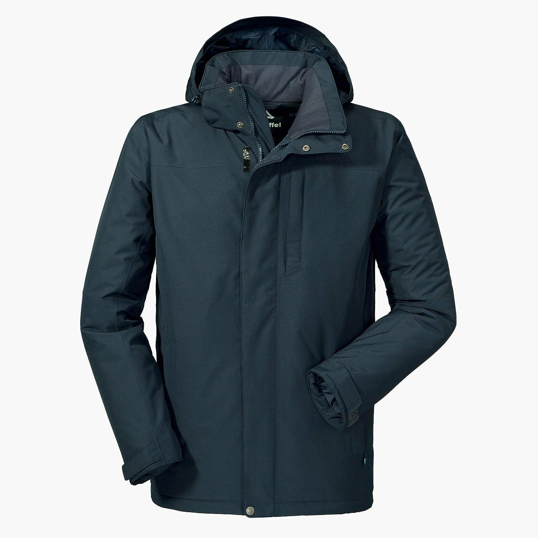 Navy blazer 52 (L) Schöffel Herren Insulated Jacket Belfast2 wind- und wasserdichte Winterjacke, warme und atmungsaktive Outdoor Jacke mit höchstem Tragekomfort