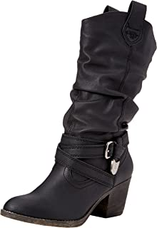 Rocket Dog Damen Stiefel, Sidestep , Gr. 37 (Herstellergröße: 4), Schwarz (Black)