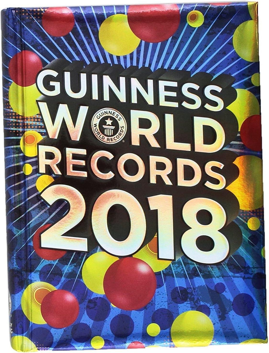Diario escolar Guinness World Records 2017 y 2018 21 x 15 cm + incluye lápiz purpurina: Amazon.es: Juguetes y juegos