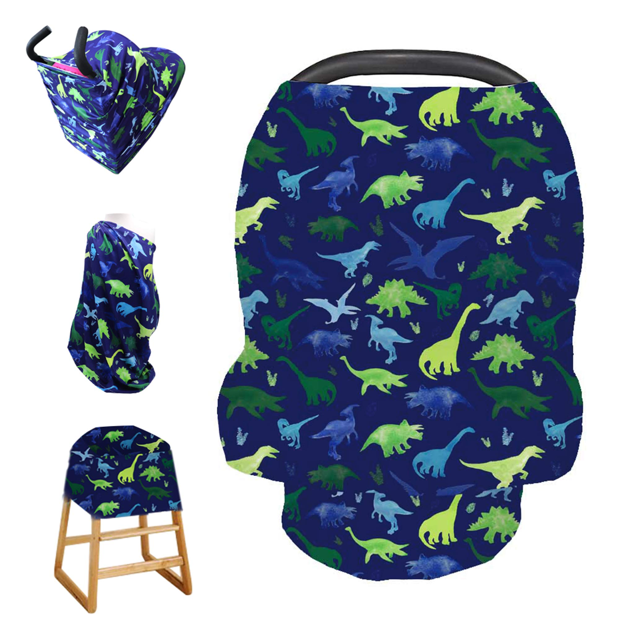 Baby Car Seat Cover Extra Large Unisex Nursing Fine Shade Infant Girl Boy Canopy