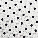 SomerTile FDXMHMWD Retro Hex Porcelain Floor and