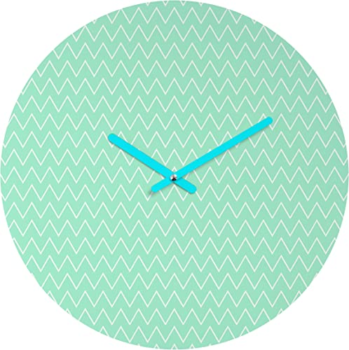 Deny Designs Allyson Johnson Classic Mint 12-inch Round Clock