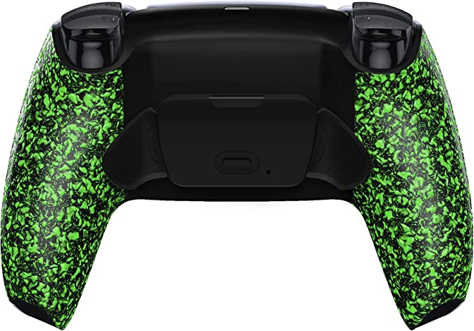 EXtremeRate Textured Green Programable Rise Remap Kit for PS5 Controller, Upgrade Board & Redesigned Back Shell & Back Buttons Attachment for DualSense Controller - Controller NOT Included | Amazon