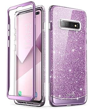 i-Blason Funda Galaxy S10 Plus [Cosmo] Antigolpes Carcasa Protector Compatible con Samsung Galaxy S10 Plus 2019 Púrpura