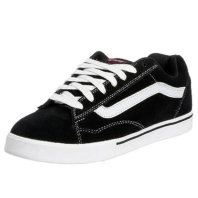 80f5aefc8f2 Vans Men s NO SKOOL LS black white formula one VF7P9HR 9.5 UK   Amazon.co.uk  Shoes   Bags