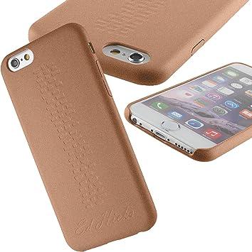 Ed Hicks Coque Semi-Rigide en Cuir, Protection Ultra-Fine pour Apple iPhone 6 et iPhone 6S 4.7 - Le Revel Or Rose