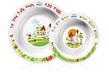 Philips AVENT BPA Free Toddler Bowl Set 6+ Months 2-Pack (  sc 1 st  Amazon.com & Amazon.com : Philips AVENT BPA Free Toddler Bowl Set 6+ Months 2 ...