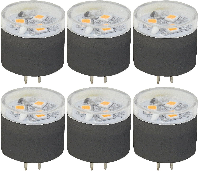 6 Qty Halco JC2S//830//LED2 81092 1.4W 3000K G4 IP65 SHORT PROLED